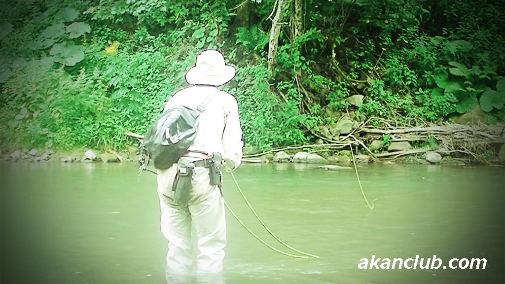 阿寒倶楽部のYoutubeチャンネルに夏川の釣りをアップしました
