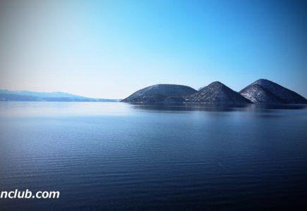 洞爺湖4K空撮