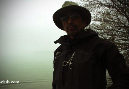 阿寒湖を歩いて釣りました遊歩道ボッケから大島前まで