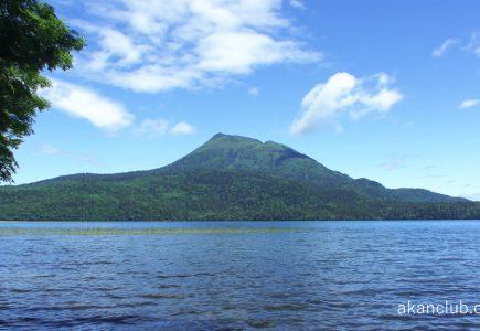 4K撮影 セミの鳴く初夏の阿寒湖